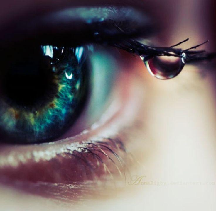 Drawn water droplets eye teardrop Photography DropsBeautiful co Best Pinterest