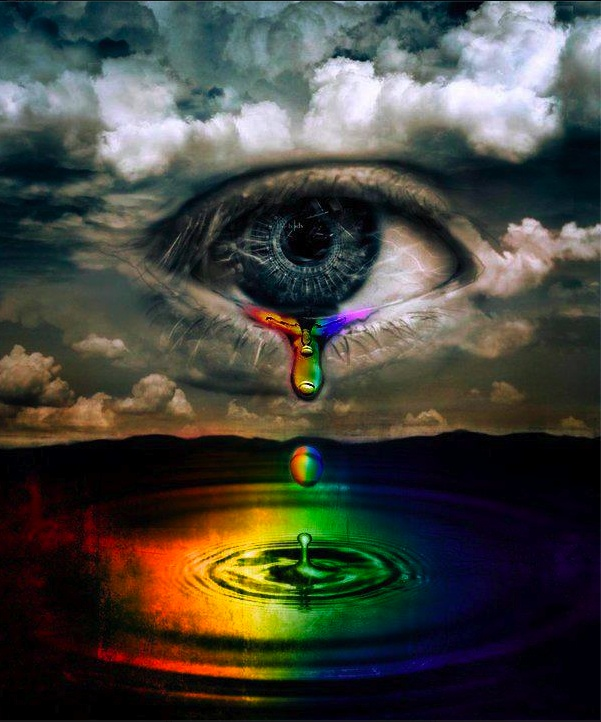 Drawn water droplets eye teardrop This TEARS more images and