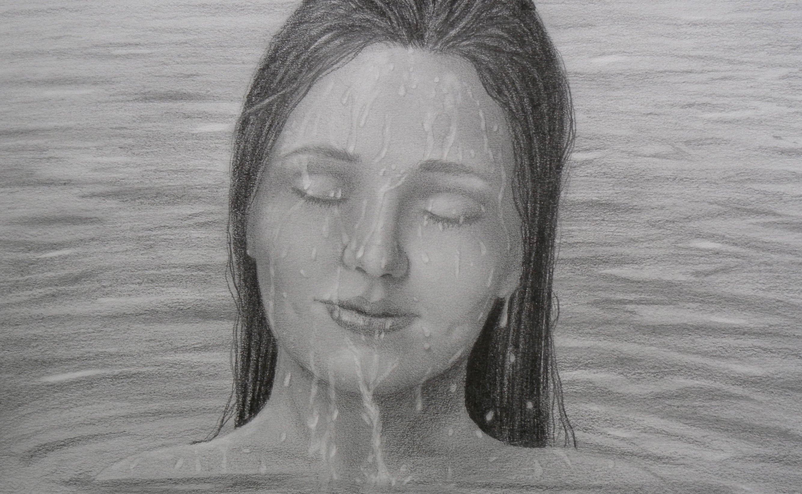Drawn water droplets face drawing To Draw YouTube  Drops