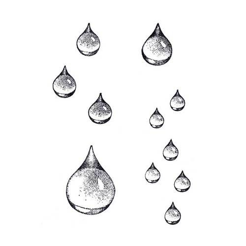 Drawn raindrops black and white Haben drawing Raindrop ideas Pieces