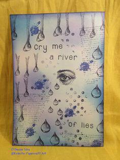 Drawn water droplets paper tutorial Tutorial 2 Designs Designs Ryn: