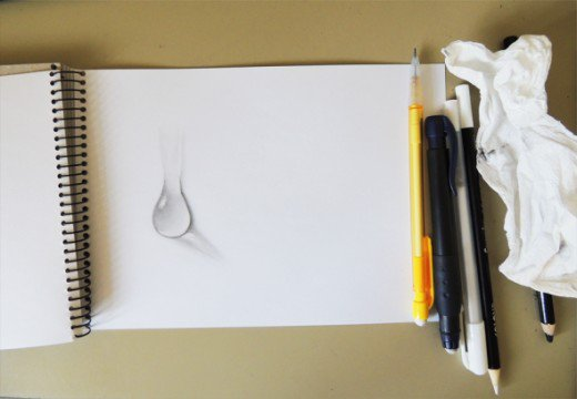 Drawn water droplets paper tutorial Demos Drawing TO  a