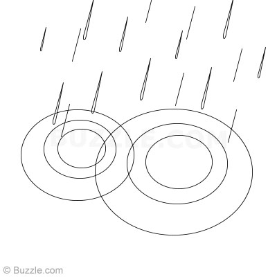 Drawn water droplets rain To 2 Step by How