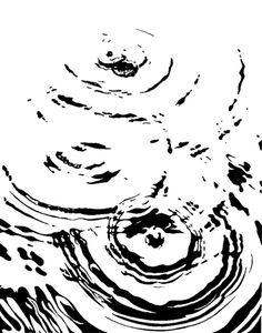 Drawn water droplets ripple How and ideas to Draw