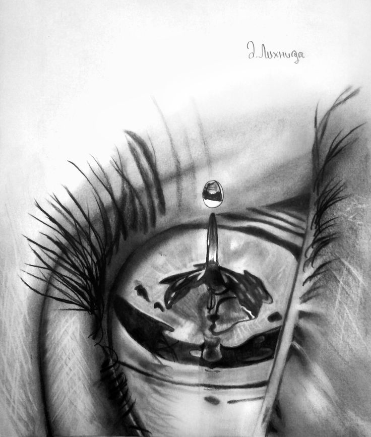 Drawn water droplets sketch Water on best images Pencil