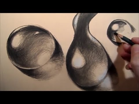 Drawn water droplets sketch By YouTube  step Water