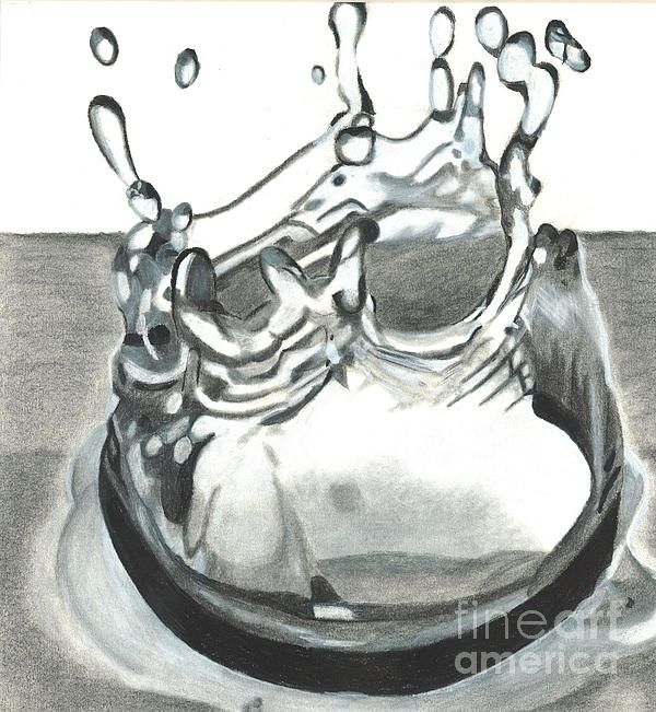 Drawn water droplets sketch Pinterest 60 Acqua Water images