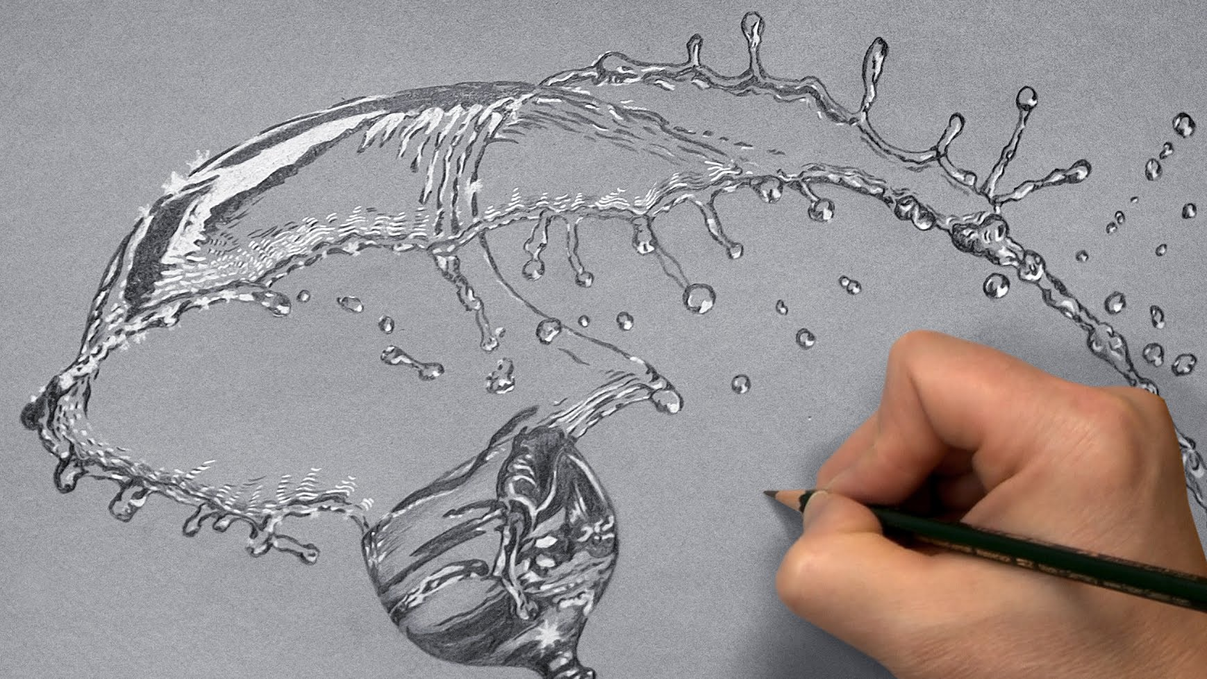 Drawn water Drawing Water I Time draw