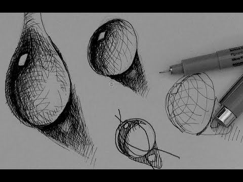 Drawn waterdrop Tutorial Pen How Pinterest Tutorial