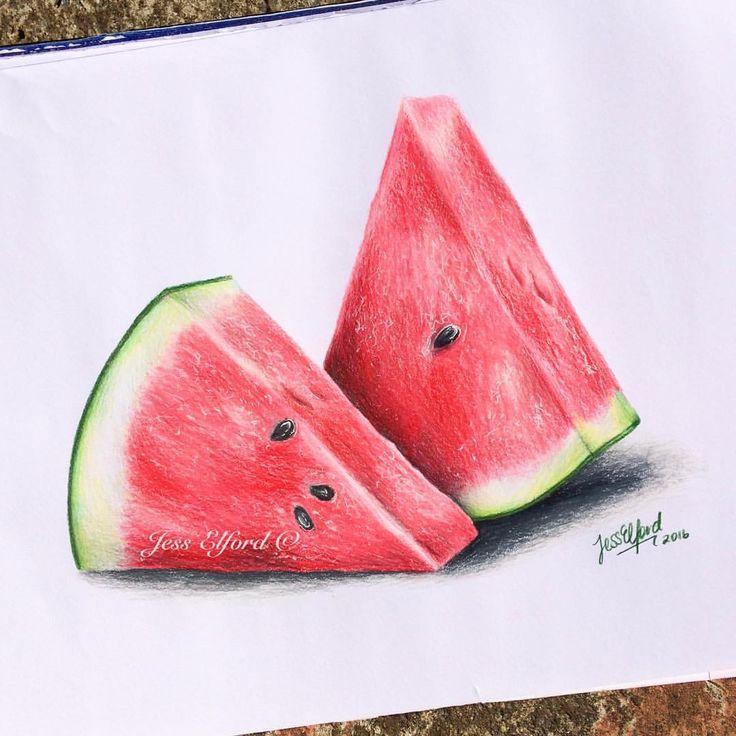 Drawn watermelon #5