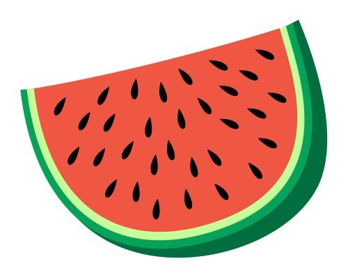 Drawn watermelon #2