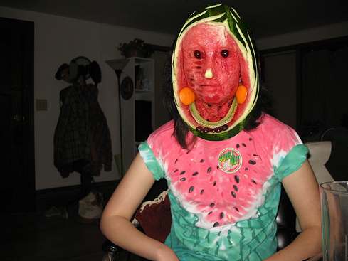 Drawn watermelon This whether or didn't the
