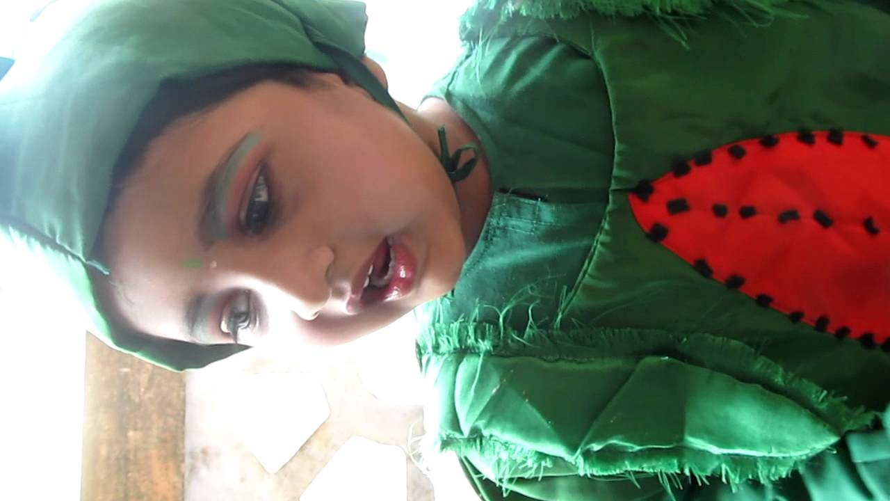 Drawn watermelon fancy dress Fancy SaiKrithi  dress YouTube