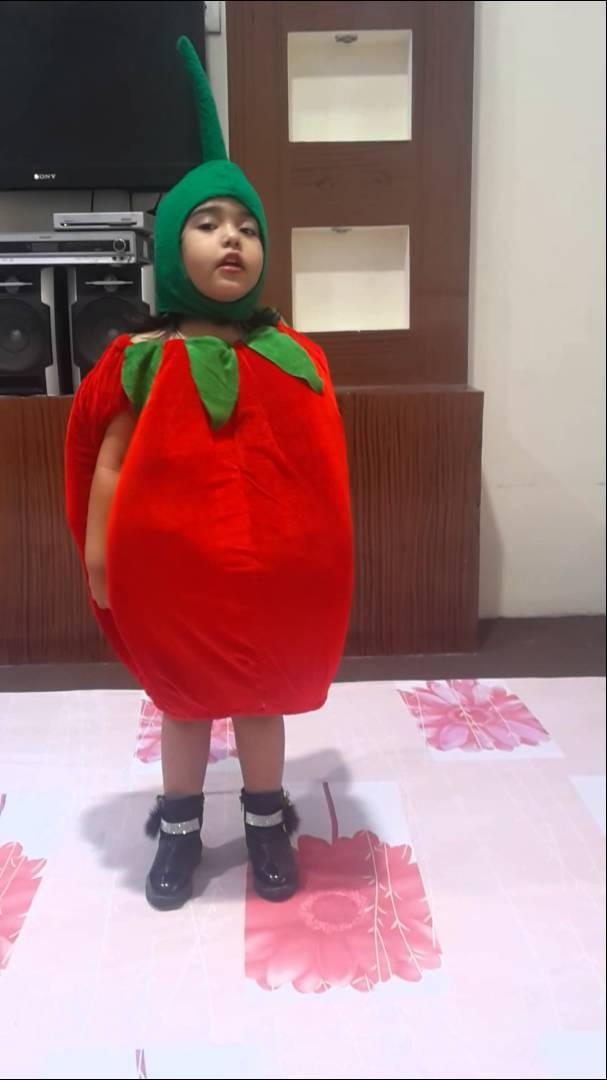 Drawn watermelon fancy dress Dress apple  cute YouTube