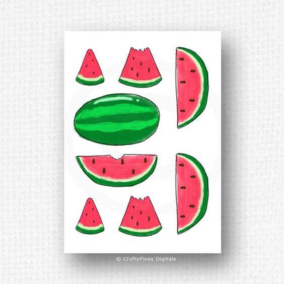 Drawn watermelon large For Printable watermelon watermelon photo