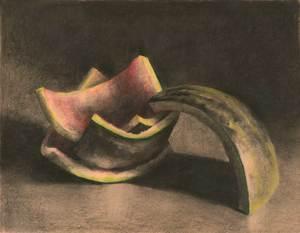 Drawn watermelon Life — Jo Still paintings