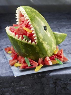 Drawn watermelon skin Own dorsal Your Sunday make