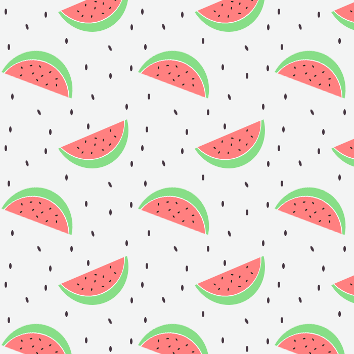 Drawn background watermelon … pattern Watermelon pattern Pinteres…