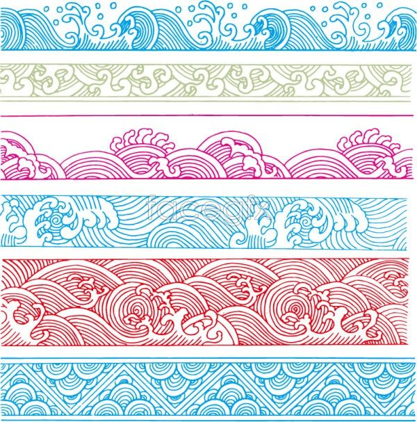 Classical clipart design pattern On patterns 20+ Best Wave