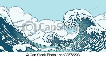 Monster Waves clipart water wave #10