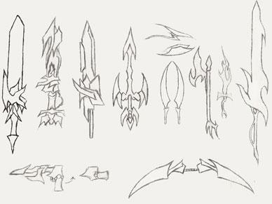 Drawn weapon Herrera Weapon Set The14thGOD Set