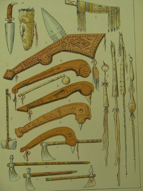 Drawn weapon algonquin Weapons Various Various Algonquin First