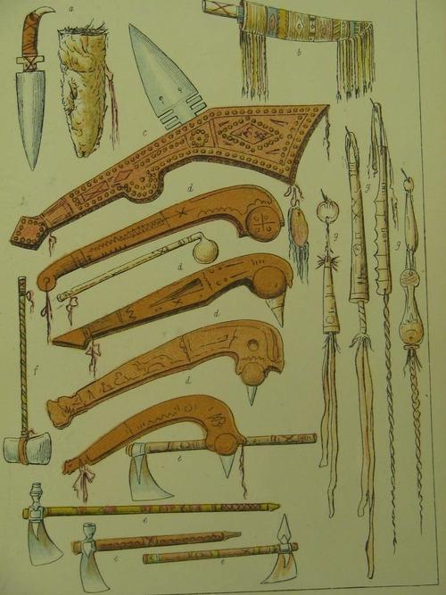 Drawn weapon algonquin Various  Various Nation Iroquois