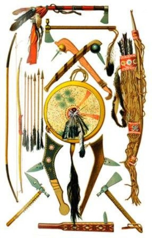 Drawn weapon algonquin Native Pinterest on (500 blancas