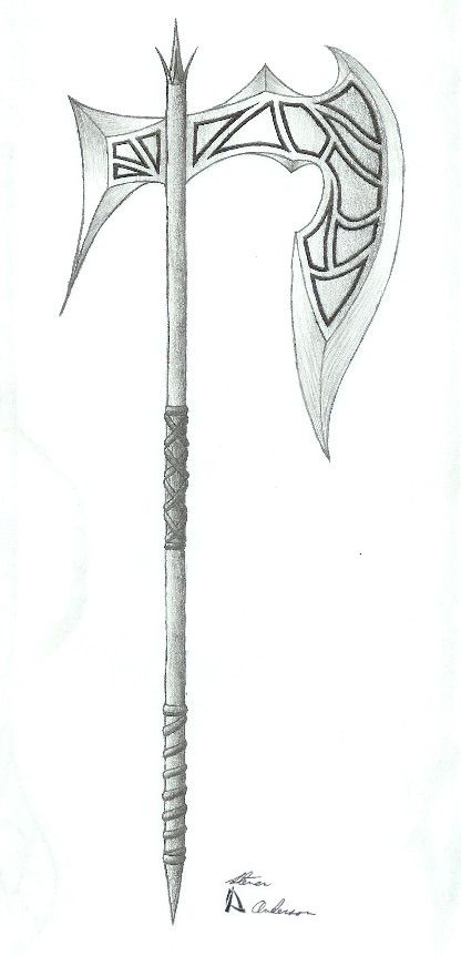 Drawn axe By Pinterest 2 Battle best