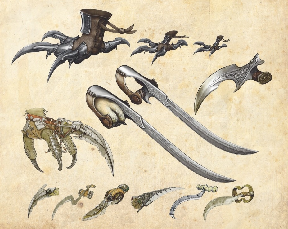 Drawn weapon battle claw Wikia Guardians by Wiki Ga'Hoole