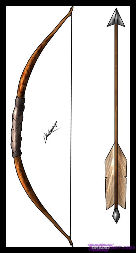 Drawn arrow archery #5