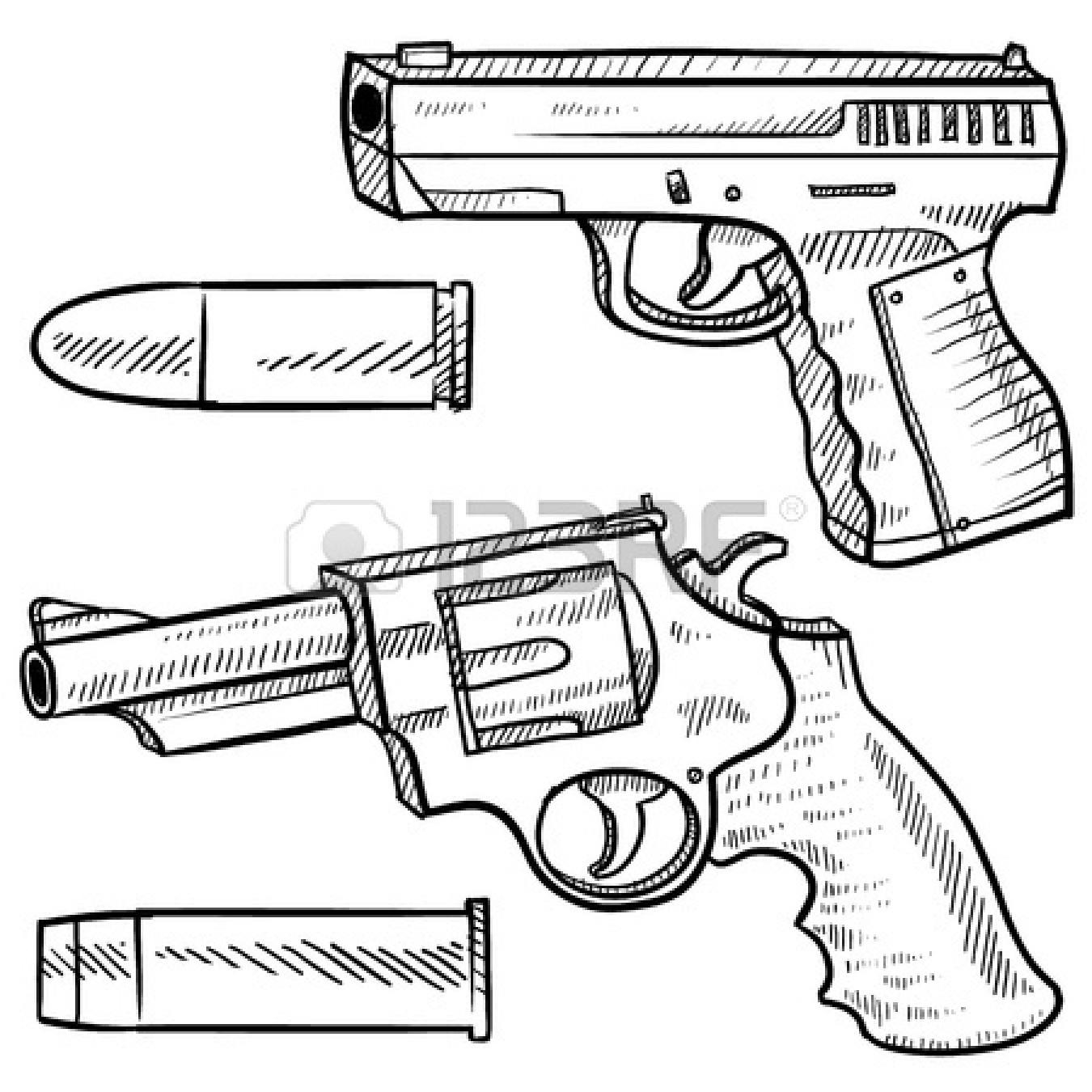 Drawn weapon bullet #bullet #gun tattoos Pinterest #bullet