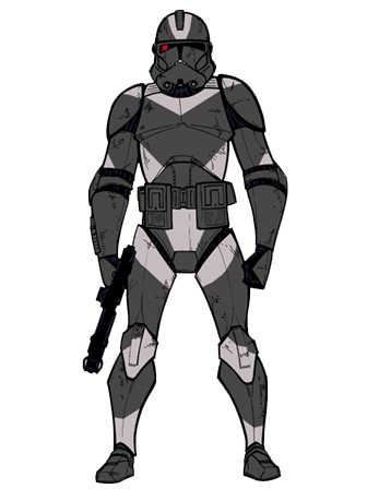 Drawn armor shadow By trooper powered Fandom shadow