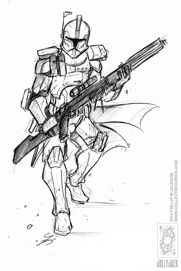 Drawn weapon clone On Trooper Demoncon 8 The