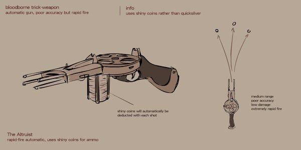 Drawn weapon coin gun On better coin Gilligan Mo