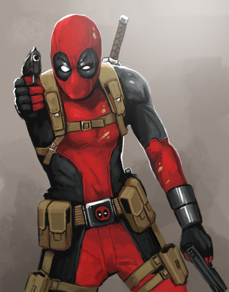 Drawn weapon deadpool game By best on 25+ 2