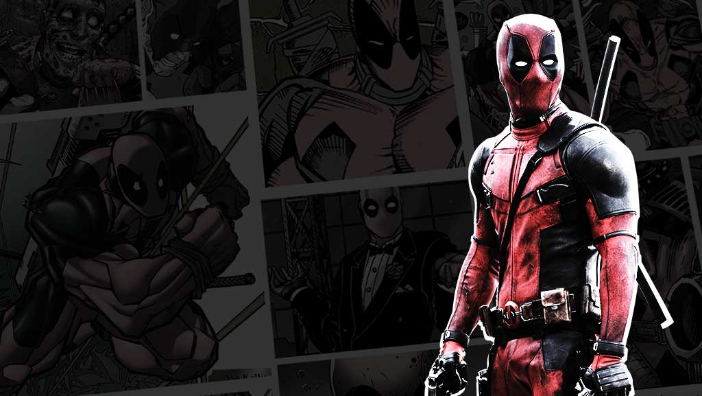Drawn weapon deadpool game The Boom Marvel's  of