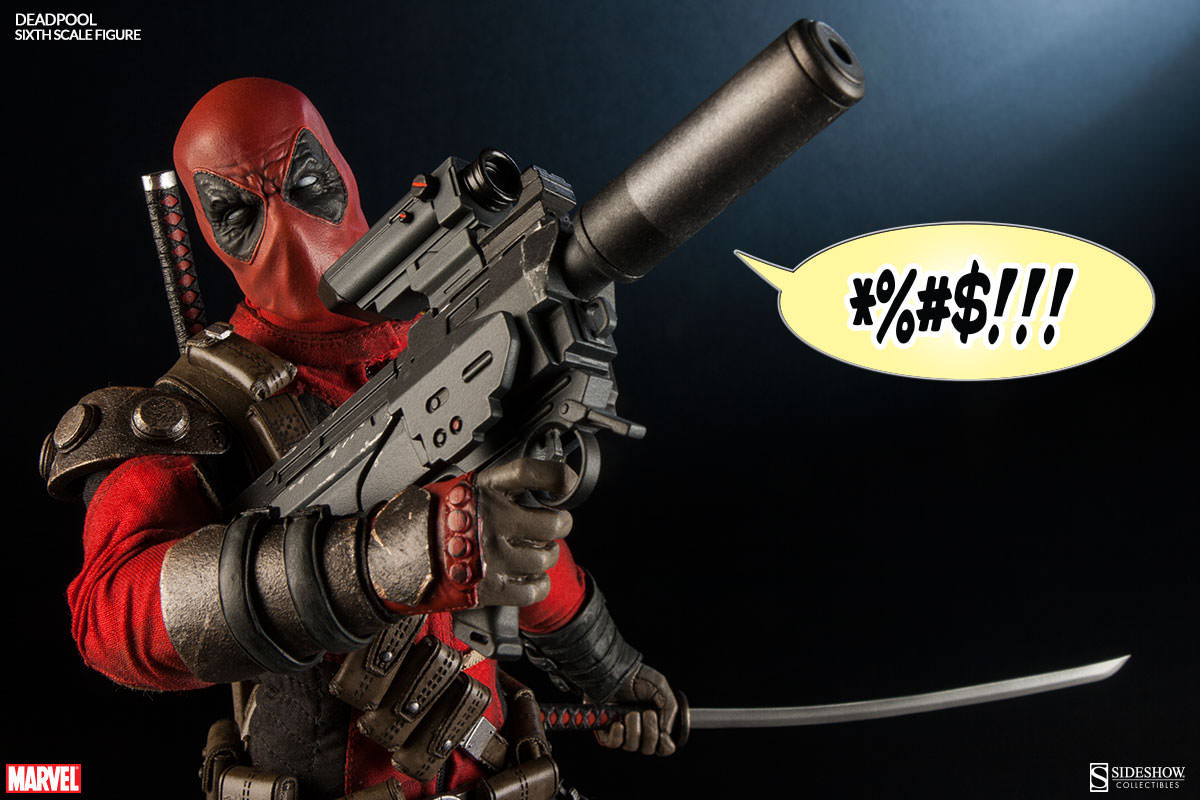 Drawn weapon deadpool game Is