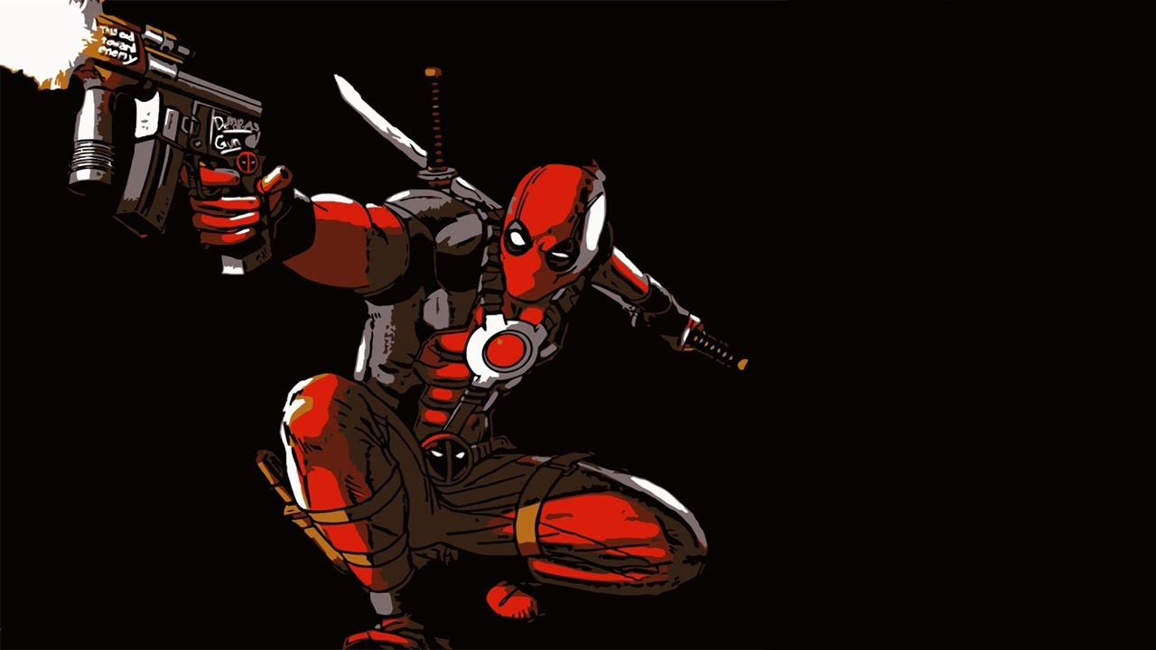 Drawn weapon deadpool game Deadpool YouTube  Chance