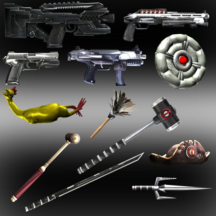 Drawn weapon deadpool game More weapons Dead Dead and