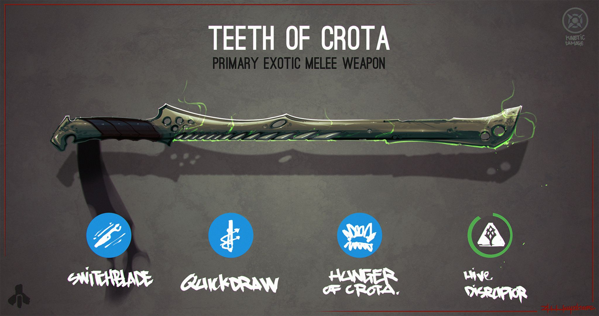 Drawn weapon destiny DestinyTheGame imgur jpg Teeth :