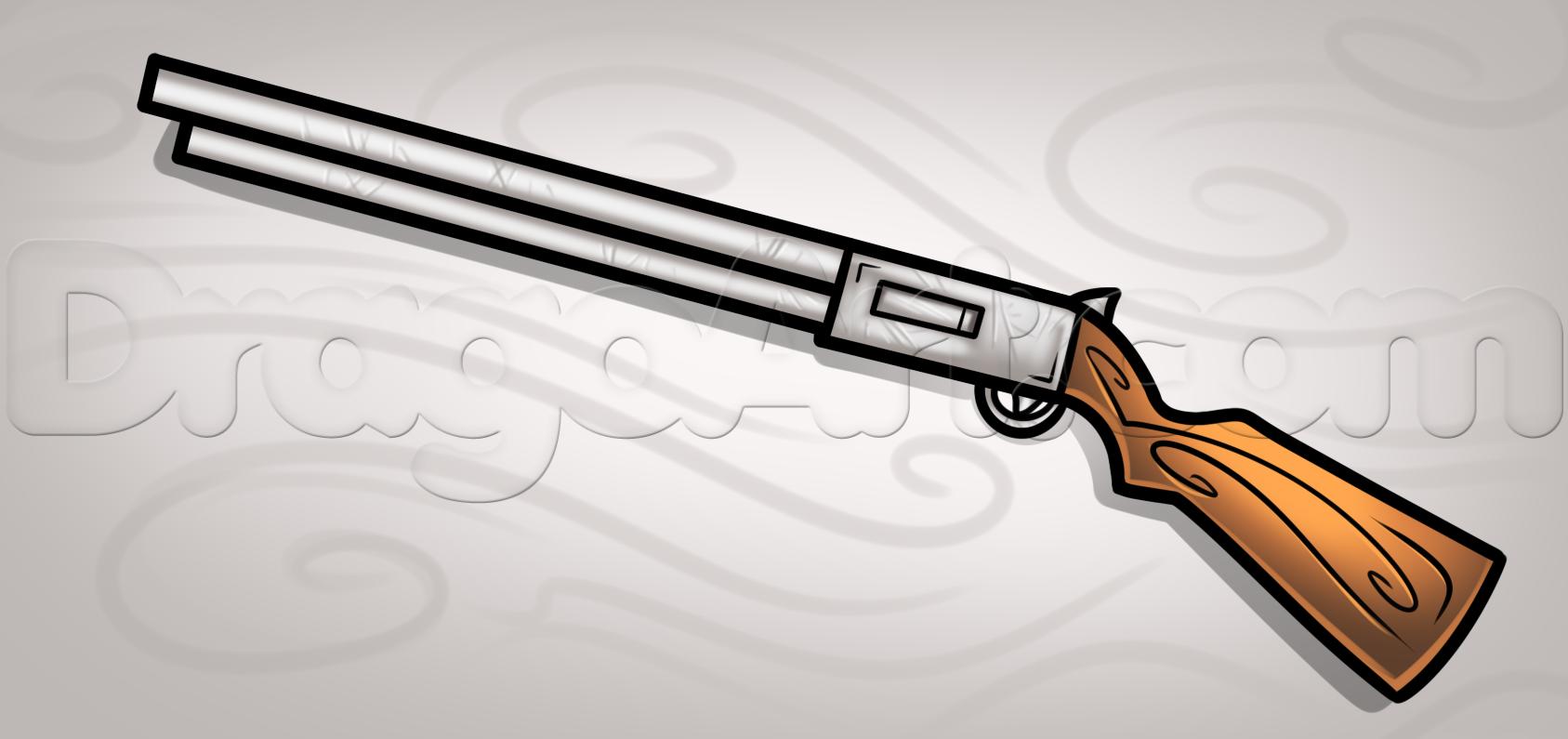 Drawn shotgun draw a Easy easy Pinterest to Stuff
