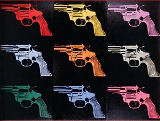 Drawn weapon famous To guns Art of Gun?