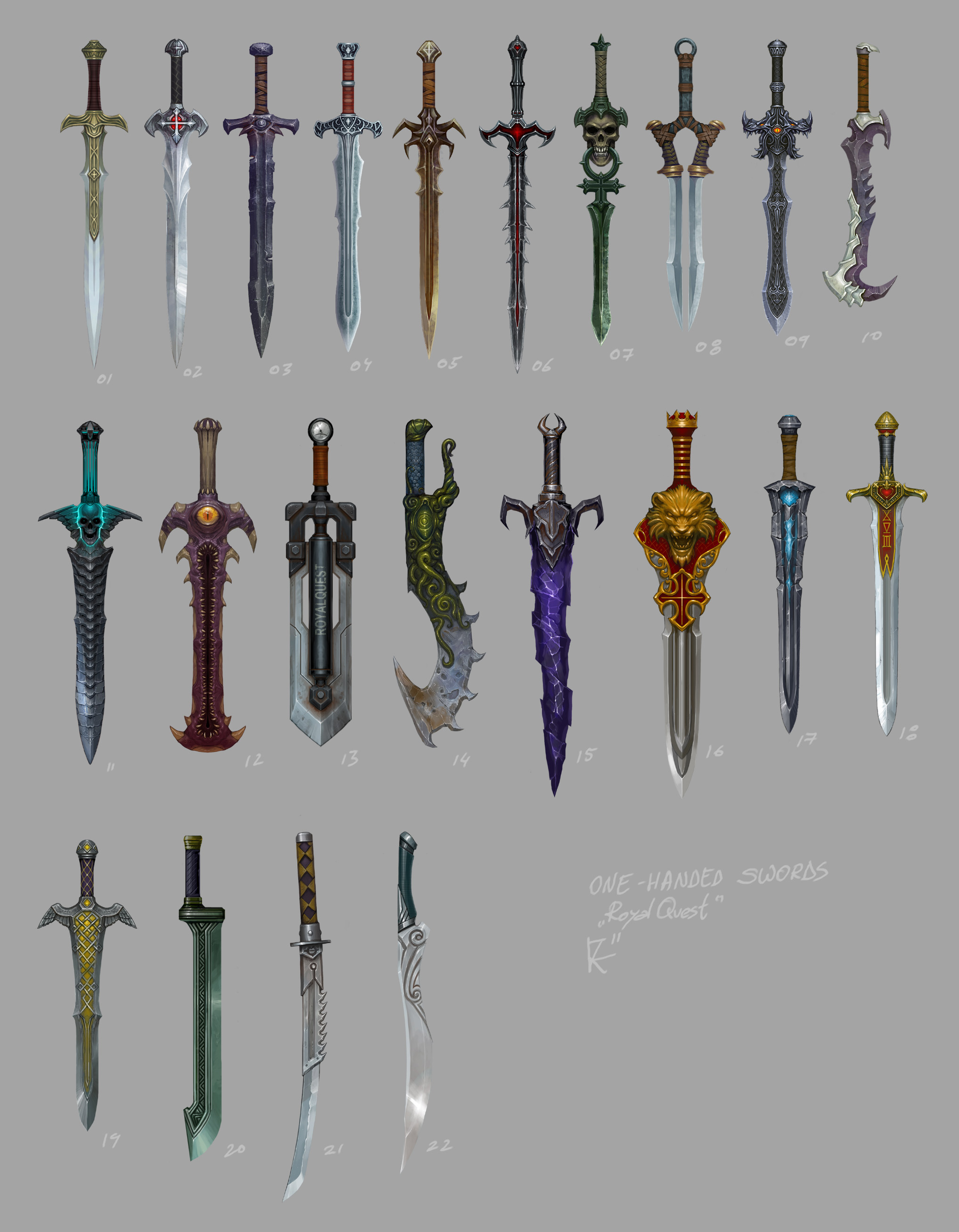 Drawn dagger one Are These  never swords