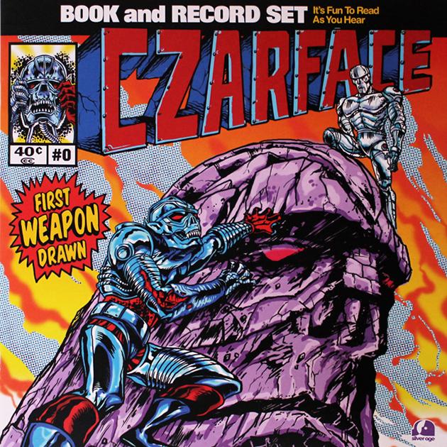 Drawn weapon famous LP+Comic Czarface: Vinyl LP+Comic Weapon