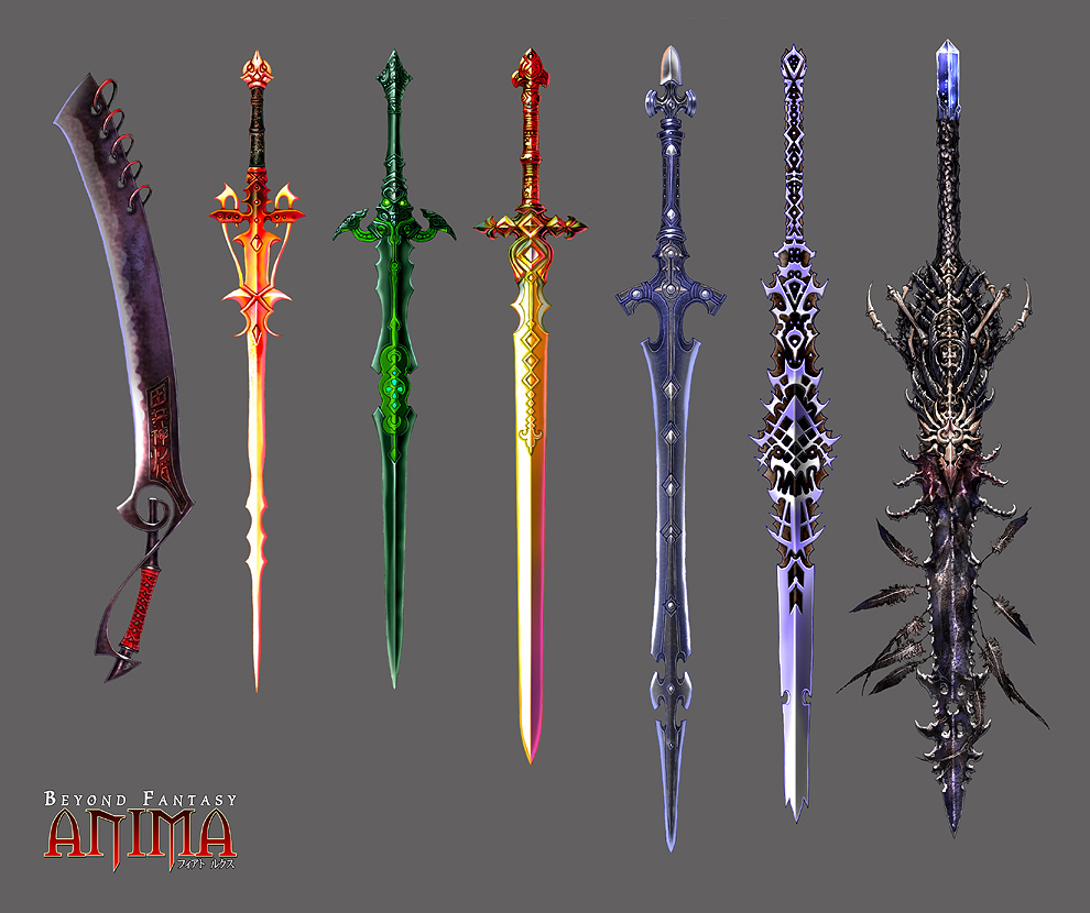 Drawn scythe wow WeaponsDeviant Weaponry of Swords