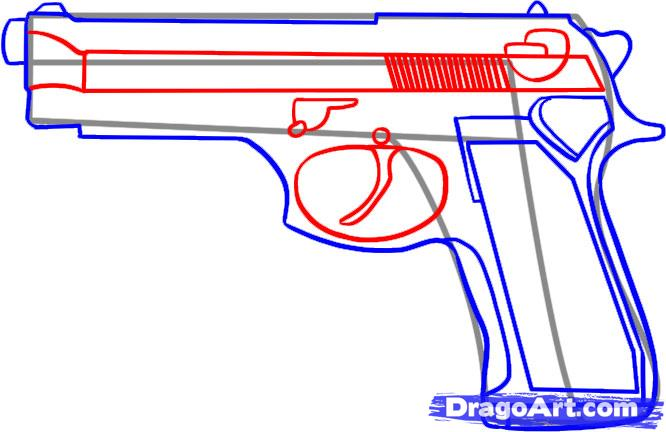 Drawn weapon glock 17 Step draw Step a FREE