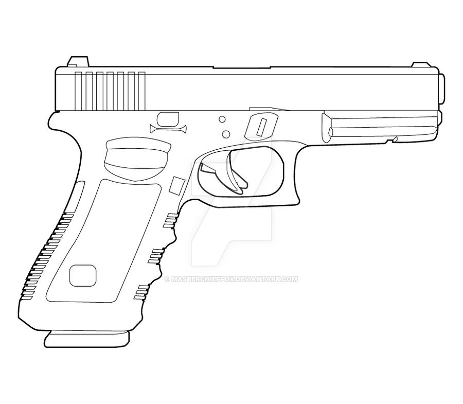 Drawn shotgun glock 17 On Glock 17 MasterChiefFox Colt