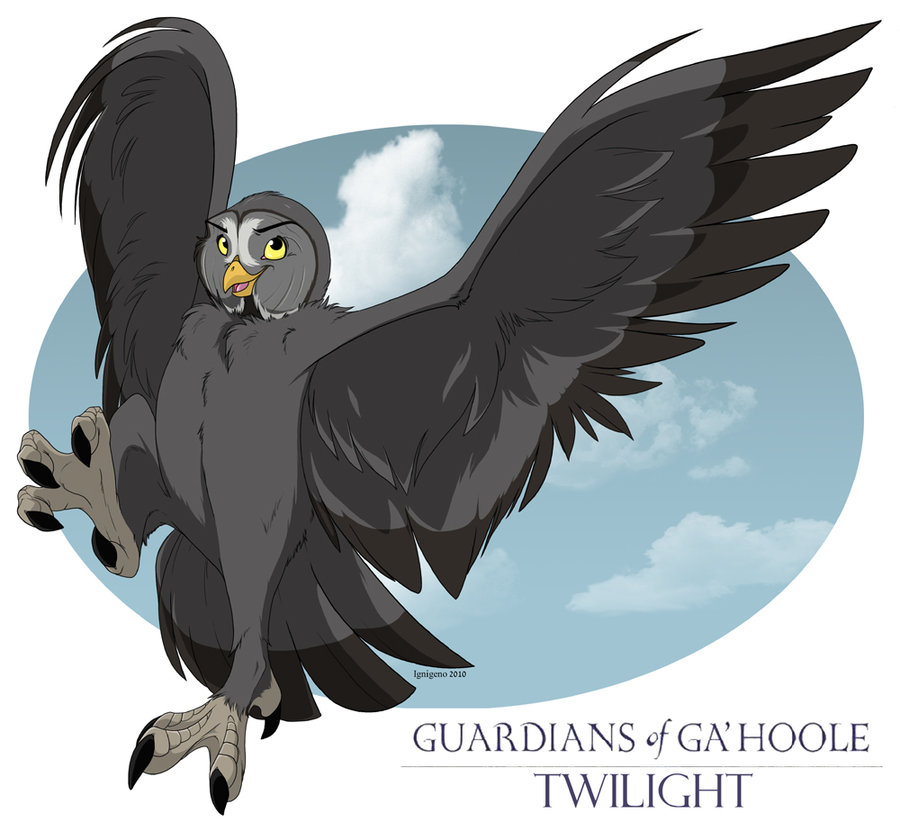 Drawn weapon guardians ga hoole By of on Twilight Guardians