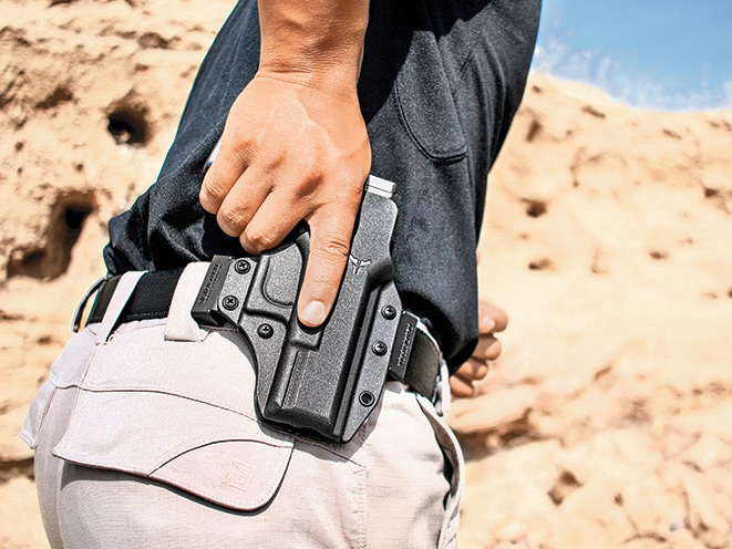 Drawn weapon hand gun Holster Concealment Out holsters Mastering